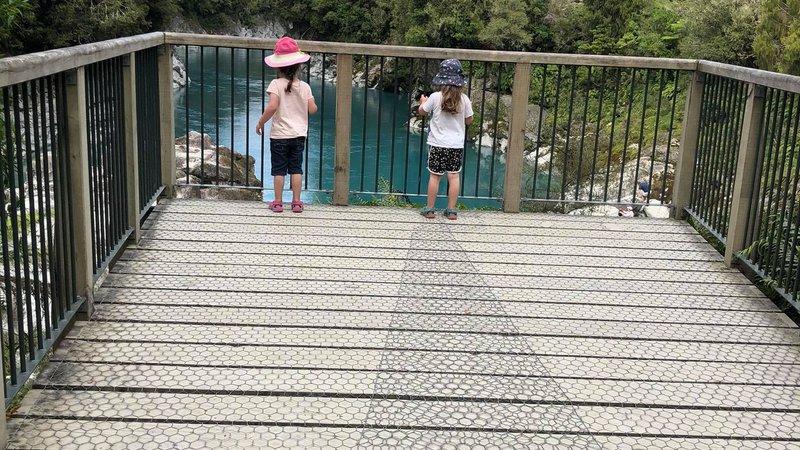 Hokitika Gorge children safe
