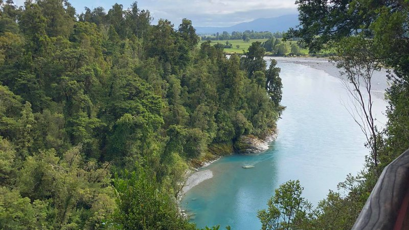 Hokitika Gorge view