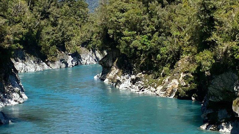 Hokitika Gorge water