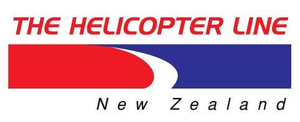the helicopter line fox glacier logo