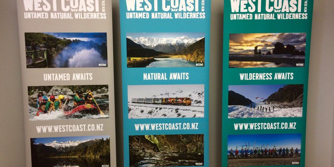 West Coast untamed natural wilderness banner promotion