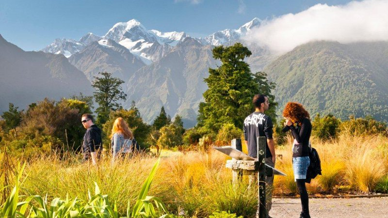 matheson cafe reflectionz gifts Fox Glacier