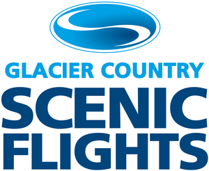 Glacier country scenic flights logo