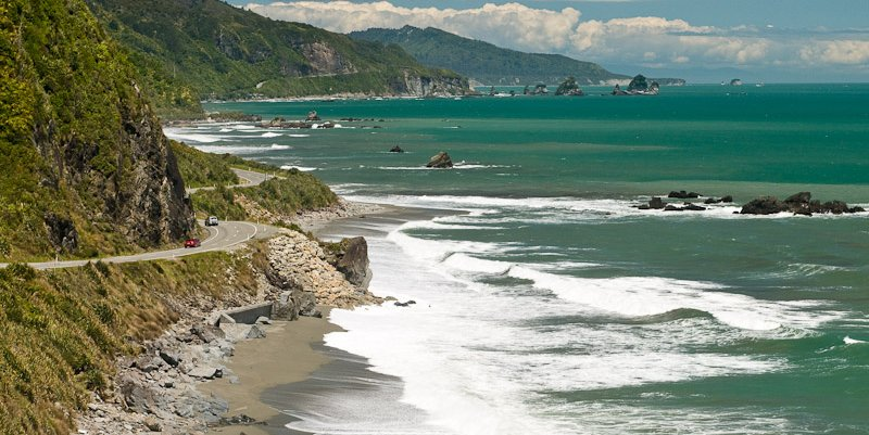 Great Coast Road, West Coast, New Zealand