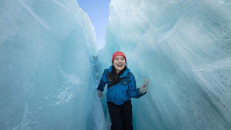 Franz Josef Glacier Guides ice cave