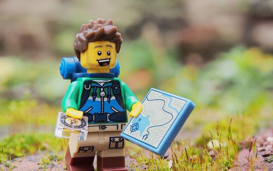 Lego explorer of the wilderness