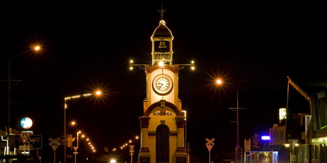 Hokitika Clock