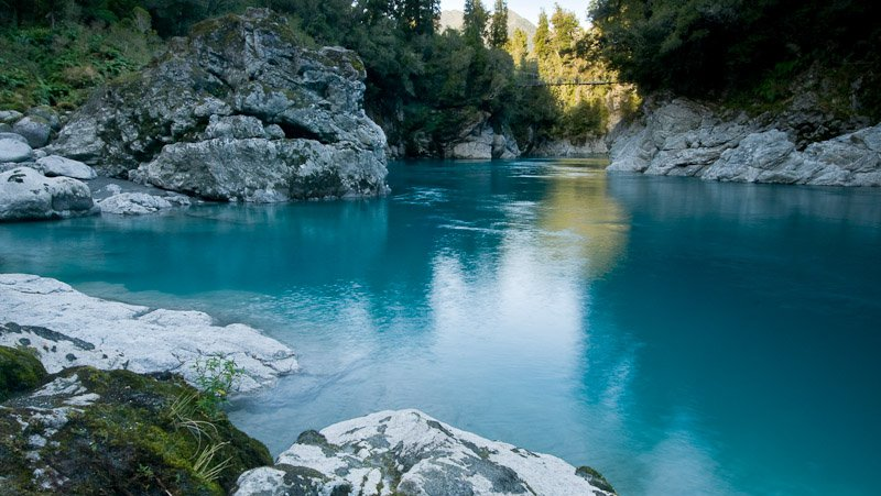 Blue Pools, Hokitika