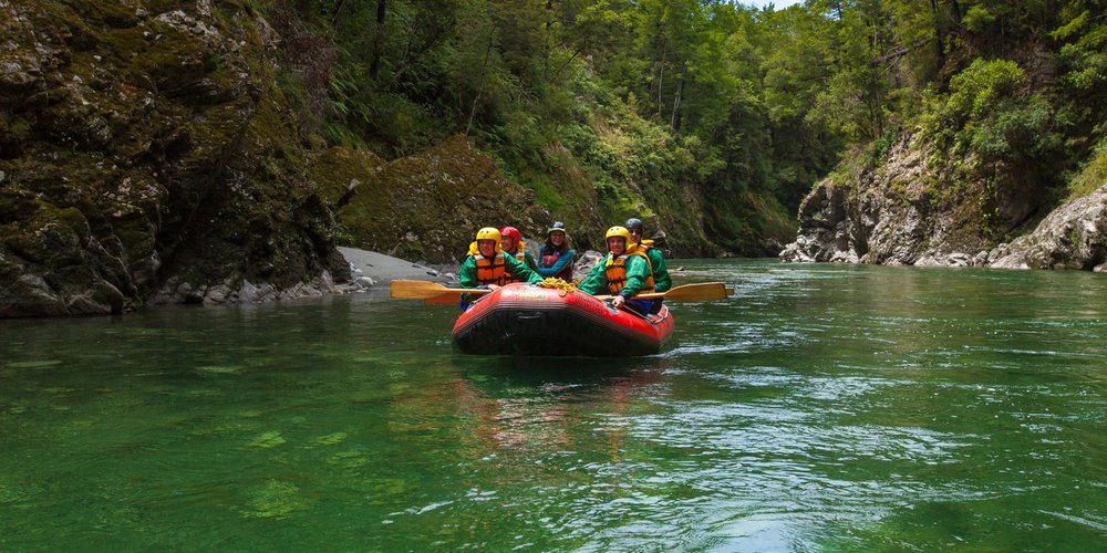 Rafting inland adventures