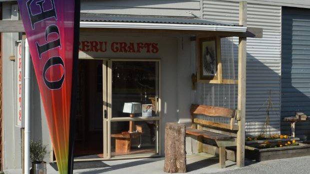 Kereru Crafts front Grey