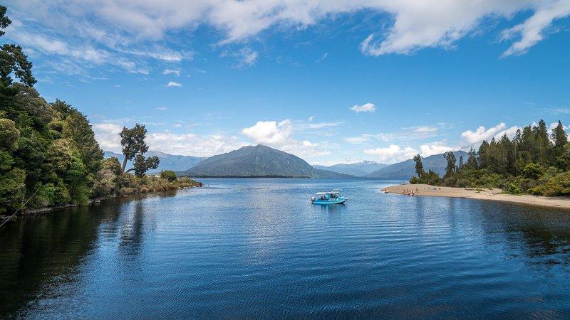 Lake Brunner, West Coast, New Zealand
