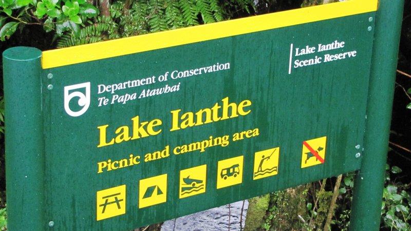 Lake Ianthe Matahi Campsite