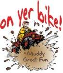 on yer bike logo