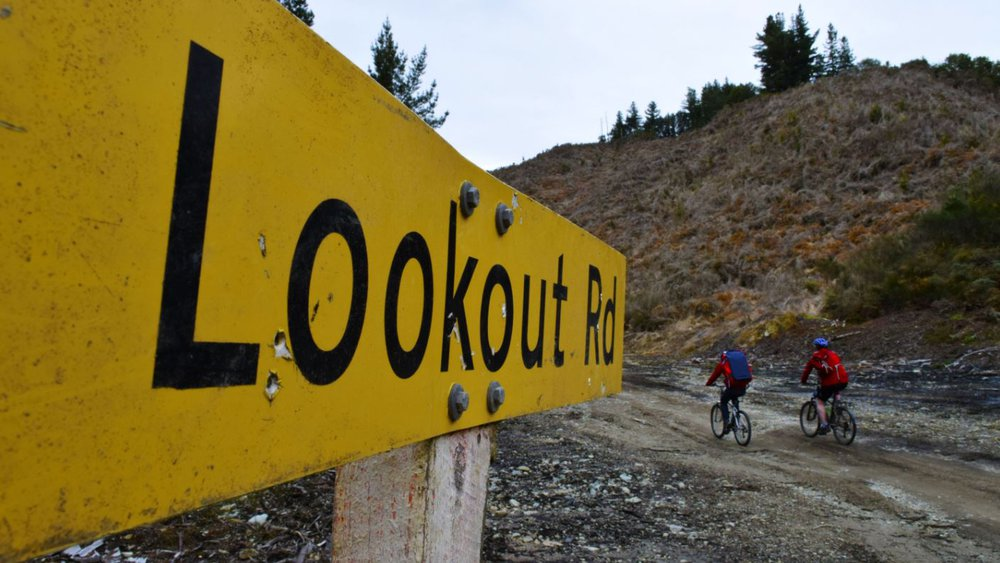 Lookout Bike Road Reefton West Coast