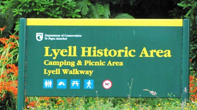 Lyell campsite