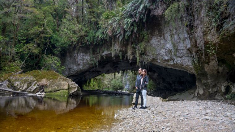 Oparara Arches in Karamea - New Zealand - 1833