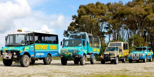 Outwest Tours 4wd vehicles unimog