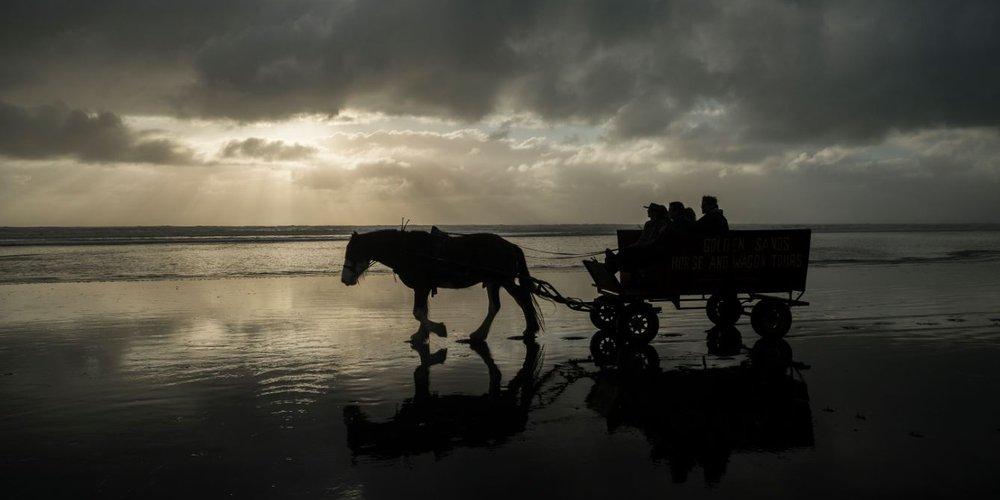 Punakaiki Beach, West Coast New Zealand