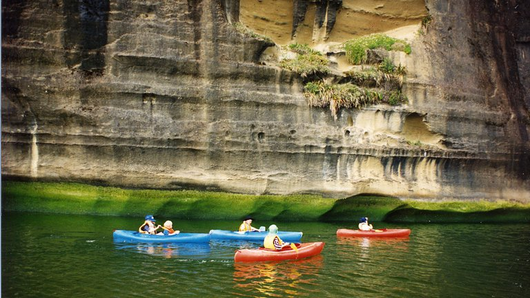 Punakaiki Canoes.JPG