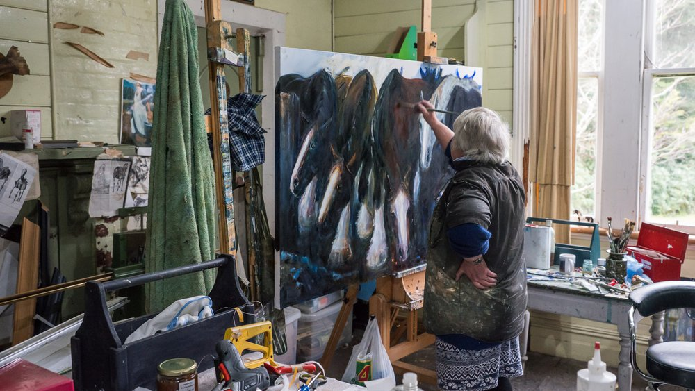 Reefton artists