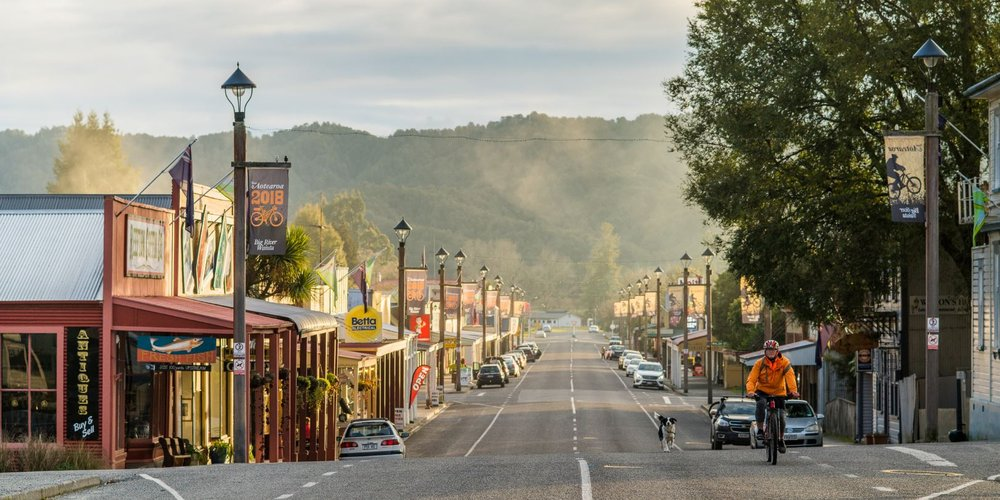 Reefton, West Coast, New Zealand