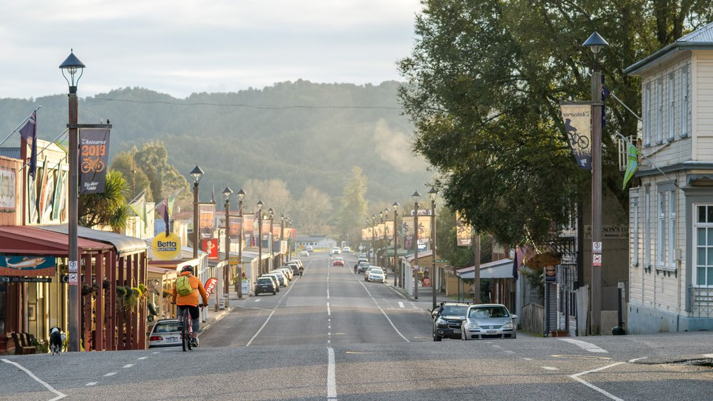 Reefton mountain biking - 3987