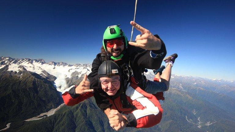 Skydive Franz