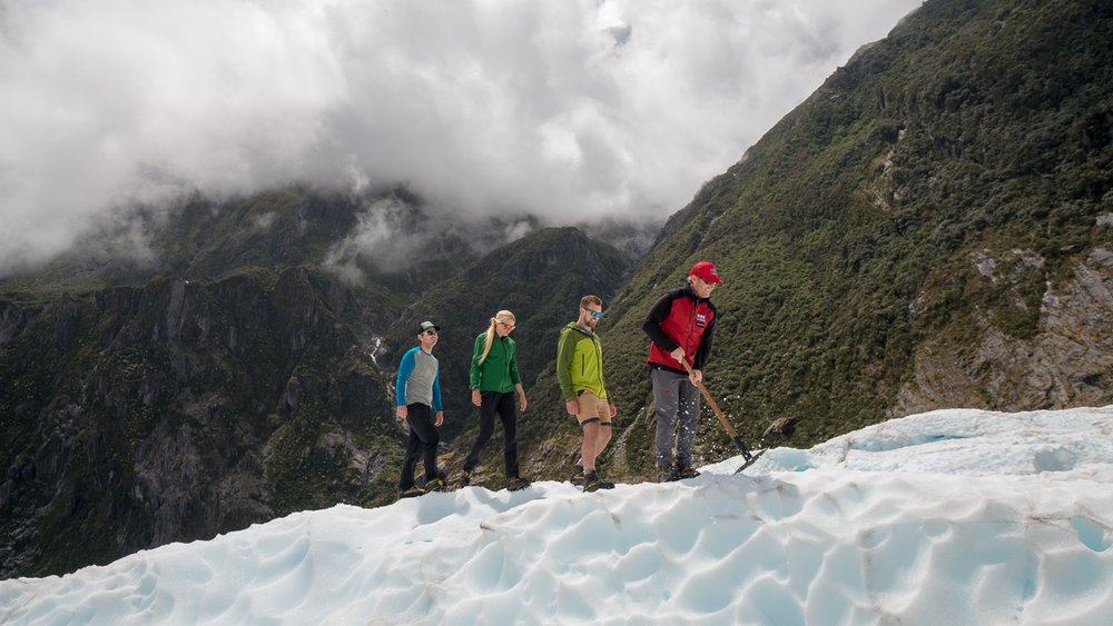 Fox Glacier guided hike