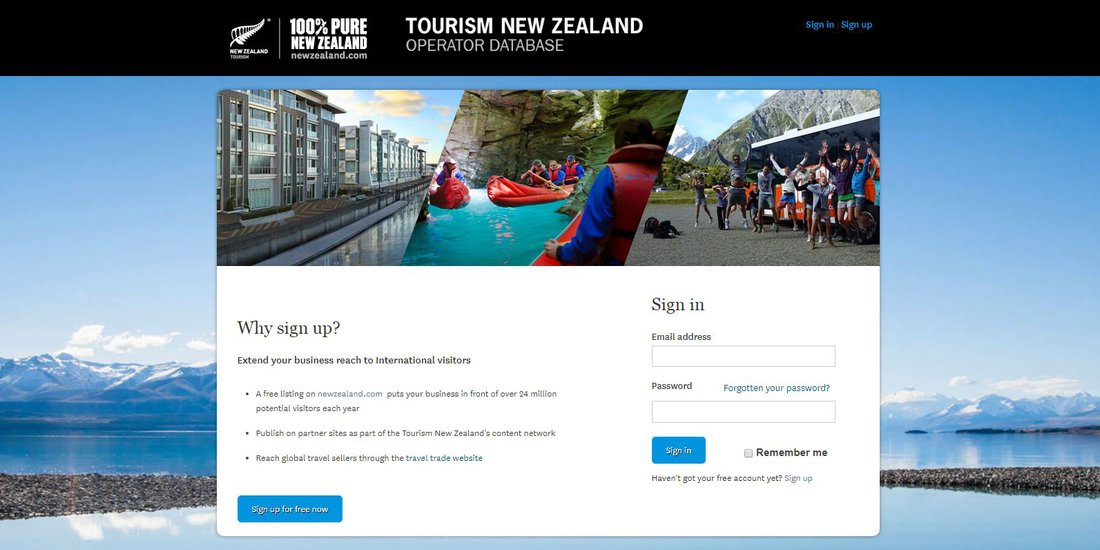 Explore New Zealand Discount Programme