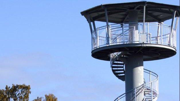 Treetop Walkway Hokitika tower
