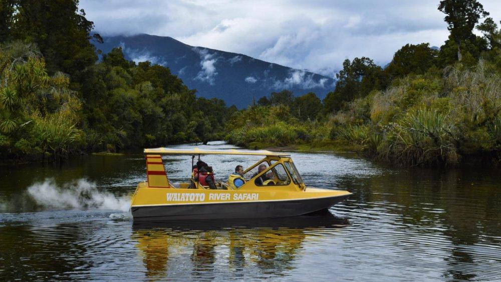 Waiatoto River Safari Jet Boat Haast