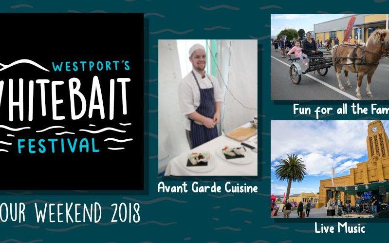 Westport Whitebait Festival Logo
