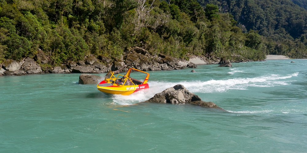 Haast World Heritage Area - Waiatoto River Safari 1