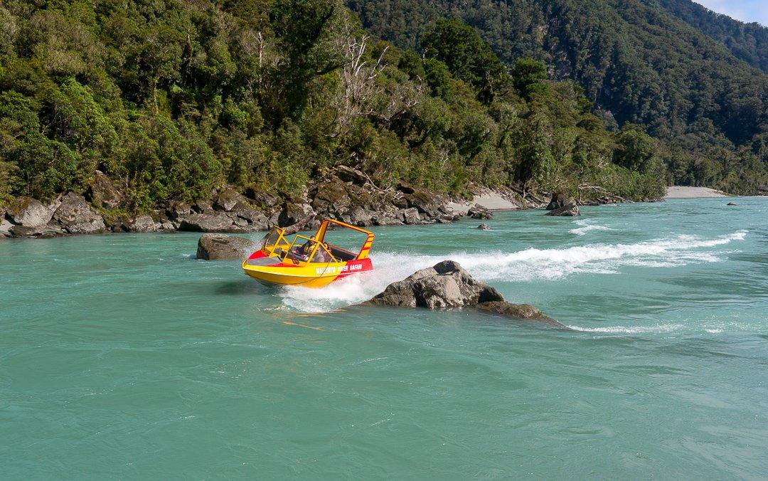 Haast World Heritage Area - Waiatoto River Safari 1