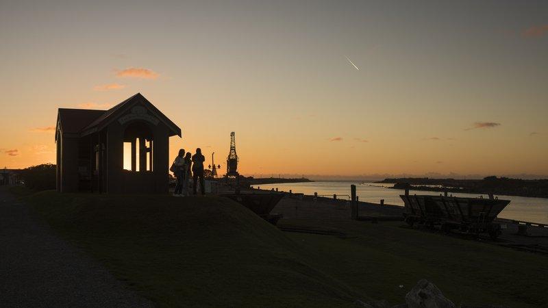 Greymouth sunset 9401