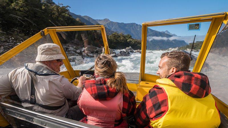Haast World Heritage Area - Waiatoto River Safari - 3