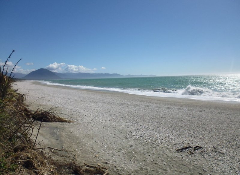 View to Jackson Bay haast